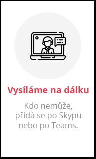 Skype nebo Teams