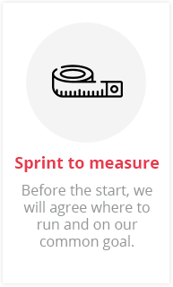 Sprint to measure
