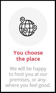 Choose place
