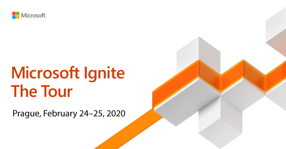 Microsoft Ignite The Tour Prague logo